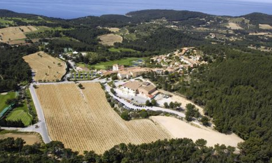 photo of domaine de frégate in Bandol wine region of Provence