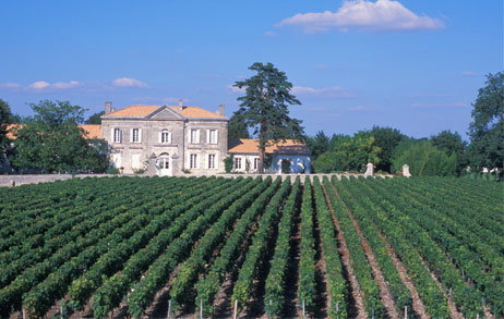 image of Chateau Greysac in the Médoc.